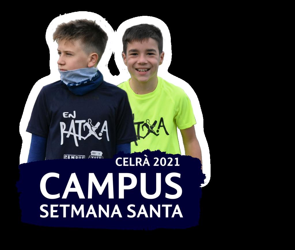 Campus futbol setmana santa Celrà Girona